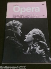 OPERA MAGAZINE - GIULINI AND FALSTAFF - JULY 1982