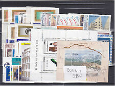 ITALIA REPUBBLICA 2004 ANNATA COMPLETA 69+3 FOGLIETTI VALORI GOMMA INTEGRA