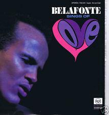 LP HARRY BELAFONTE SINGS OF LOVE
