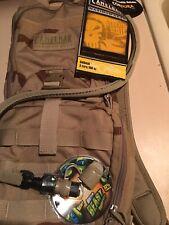 CAMELBACK Ambush Backpack 100OZ. 3L Hydration Bladder - Desert Camo &A Bonus