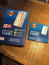 Fritz! Powerline 1260E WLAN-Adapter - WLAN-Access-Point - OVP
