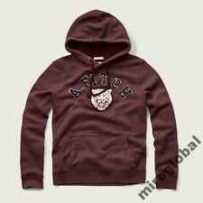 NWT   ABERCROMBIE & FITCH Applique Logo Hoodie - Men's size XL