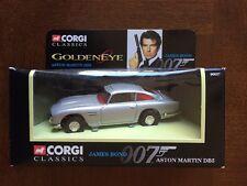 1995 Corgi James Bond 007 Aston Martin DB5 1:43 Die Cast, Nice!!