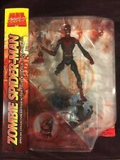 MARVEL SELECT ZOMBIES SPIDER-MAN FIGURE ~ SPECIAL COLLECTOR EDITION   RARE