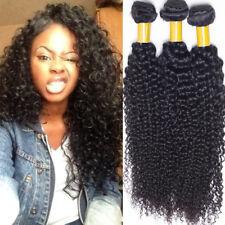 100% Soft 1/2/3 Bundles Remy Curly Wave Virgin Brazilian Weave Human Hair Wefts