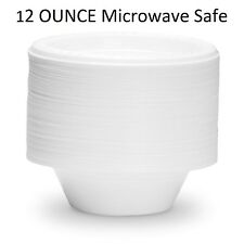 Disposable Bowls For Soup Salad And Any Case Microwave Safe 100 Plastic Count