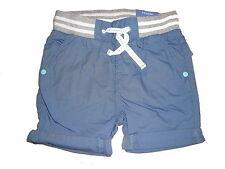 NEU Dopodopo tolle kurze Hose / Shorts Gr. 74 blau mit weiß-grauem Bund !!