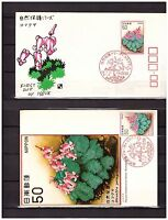 s10969) JAPAN JAPON 1978, Nature, flora 1v FDC + ,MAXICARD