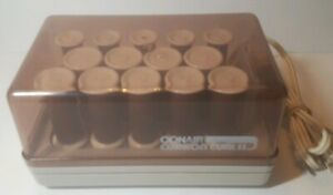 Vintage ConAir Cushion Curl ll Hot Rollers Hair Curlers Tested & Works EUC