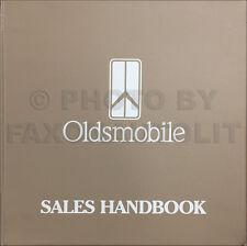 1993 Olds CANADIAN Dealer Sales Album Supreme Cutlass 88 98 Ciera Achieva Handbk