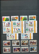 544085 / Ruanda ** MNH Lot mit Block