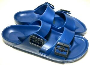 Birkenstock Arizona Essentials EVA Navy Sandals Women's 10 Men's 8 Eu 41 Narrow