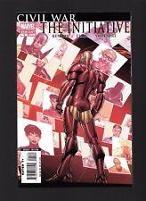 Civil War: The Initiative #1 2nd Print Variant NM Marvel