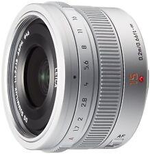 Panasonic LUMIX G LEICA DG SUMMILUX 15mm /F1.7 ASPH. H-X015-S Silver EMS W/T