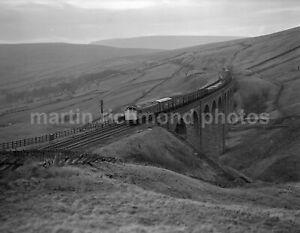 Arten Gill Viaduct S&C Class 25 25080 24.3.82 John Vaughan Negative RN109