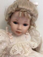 """Pauline Bjonness-Jacobsen Porcelain 22"""" Doll  Ltd. Ed. 479/950"""