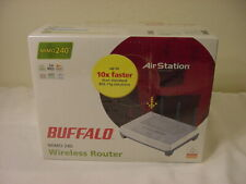 NEW BUFFALO MIMO 240 WIRELESS ROUTER WZR-G240
