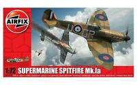 Airfix Model Kit Supermarine Spitfire Mk.la 1:72 WW2 Military War Aircraft Plane
