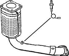 CITROEN SAXO 1.1 Catalytic Converter Front Klarius 1731N9 Quality Replacement