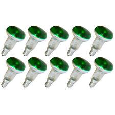 10 X SYLVANIA réflecteur 40W R50 Ampoule spot VERT 40 Watt Ampoule E14 lampes