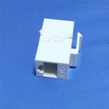 1Pcs Cat6 RJ45 Female to Female UTP Keystone Wall Jack Coupler Adapter