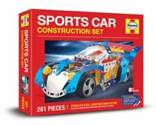 SPORTS CAR CONSTRUCTION SET 288 PIECE HAYNES STAINLESS STEEL SYSTEM Meccano Like