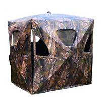Ground Hunting Blind Portable Deer Elk Pop Up Box Tent Stand Weatherproof Window