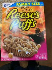 Travis Scott Reeses Puffs Cereal Special Edition