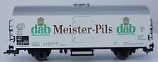Fleischmann 5342 dab Meister Pils Bierwagen / gedeckter Wagen - Spur HO - OVP