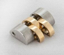Rolex Ladies Jubilee Stainless Steel & 18k Yellow Gold 10mm Bracelet Link