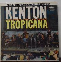 Stan Kenton Kenton Live from the Las Vegas Tropicana vinyl ST1460  070818LLE