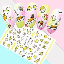Nail Art Stickers Transfers 3D Self Adhesive Easter Chicks Eggs (XF3028)