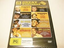 "GREAT WESTERNS 24 CLASSIC EPISODES, DVD REGION ALL ""NEW SEALED"" AUZ SELLER"