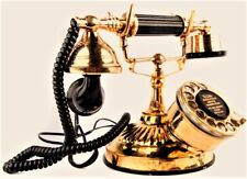 Antique Maharaja Style Siemens Brothers & Co. LTD 1885 Old Brass Telephone TP 06