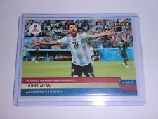 2018 PANINI INSTANT WORLD CUP RED 118 LIONEL Messi 1/297 Argentina