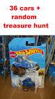 2021 Hot Wheels 70 VW Baja Bug blue lot of 36 + random treasure hunt, FAST SHIP