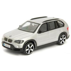 BMW X5 silver - Bburago 1:43 Scale Diecast Toy Car