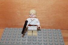 Lego Star Wars - Jedi Luke Skywalker Figur mit Blaster Waffe aus Set 8092