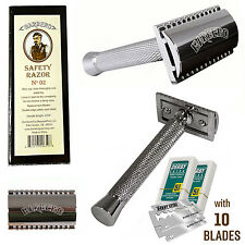 Barbero Safety Razor No.02 with 10 Free Blades