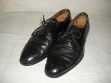 Carlo Morandi CM Men Size 9M 12071 Formal Dress Shoes Oxfords Leather ITALY