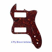 For US Fender 72 thinline Guitar Pickguard With P90 humbucker, Bronw Tortoise