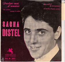 45 T EP SACHA DISTEL *PARLEZ MOI D'AMOUR*