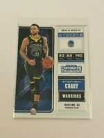 2018-19 Panini Contenders Draft Picks Basketball Base - Stephen Curry - Warriors