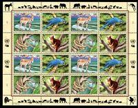 UNO Genf ZD-Bogen MiNr. 369-72 postfrisch MNH gefährdete Tierarten (H403