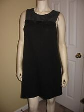 Weston Wear Women's Black / Gray Tunic Dress Size M.