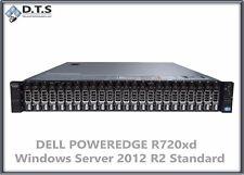 DELL POWEREDGE R720xd 24x 900Gb H710 48Gb WINDOWS SERVER 2012 R2 STANDARD COA