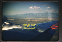 1950's American Airlines DC-6 Aircraft over Tucson, Arizona, Original Slide a21b