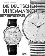 Fachbuch Die deutschen Uhrenmarken im Porträt, Sinn, Stowa, Tutima, Lang & Heyne