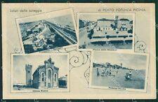 Macerata Porto Potenza Picena Saluti da ABRASA cartolina QK6575