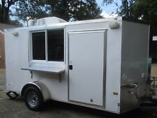 New food concession trailer with equipment